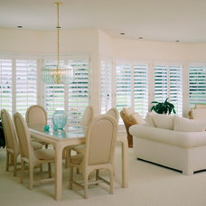 Traditional Dining Room by Total Window, Inc.