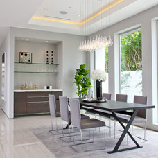 Contemporary Dining Room by Boswell Construction