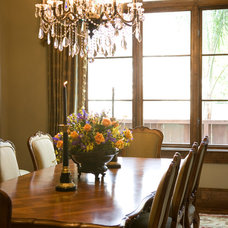 Traditional Dining Room by Allegro Builders