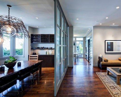 glass wall divider | houzz