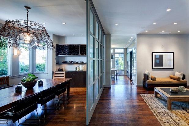 Contemporary Dining Room by Nicholas Design Collaborative