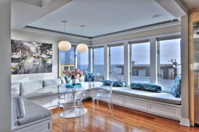 Contemporary Dining Room by Al's Custom Woodworking