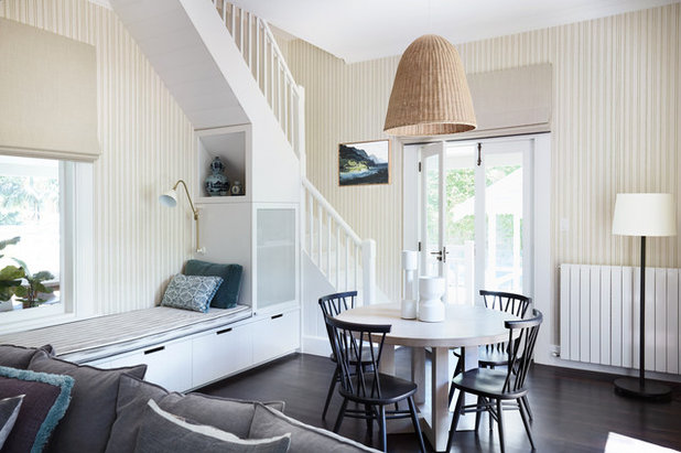 Transitional Dining Room by Architelle Architecture & Interior Design