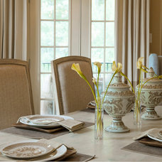 Traditional Dining Room by Regas Interiors, LLC