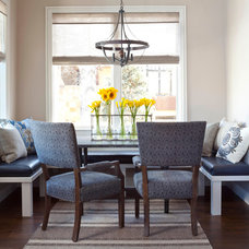 Transitional Dining Room by Ashley Campbell Interior Design