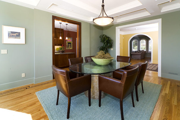 Eclectic Dining Room by Design Solutions