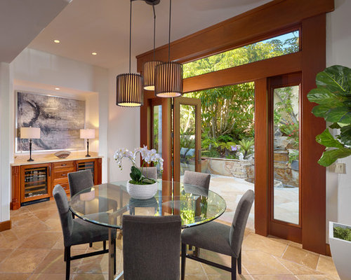 Tropical home design photos decor ideas for Tropical dining room ideas