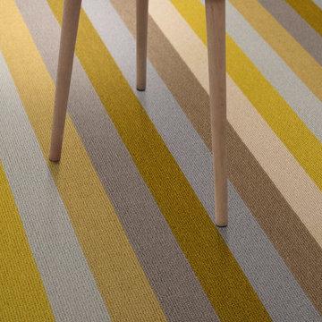 Alternative Flooring - Margo Selby Stripe Sun Whitstable Carpet