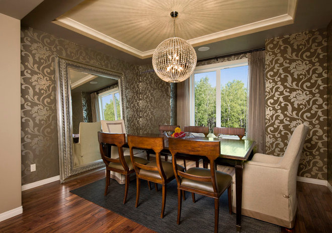 Contemporary Dining Room by Albi Homes