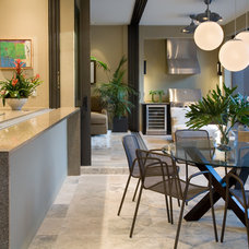 Contemporary Dining Room by WAYCOOL Homes, LLC