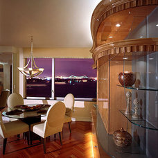 Contemporary Dining Room by American & International Designs, Inc.