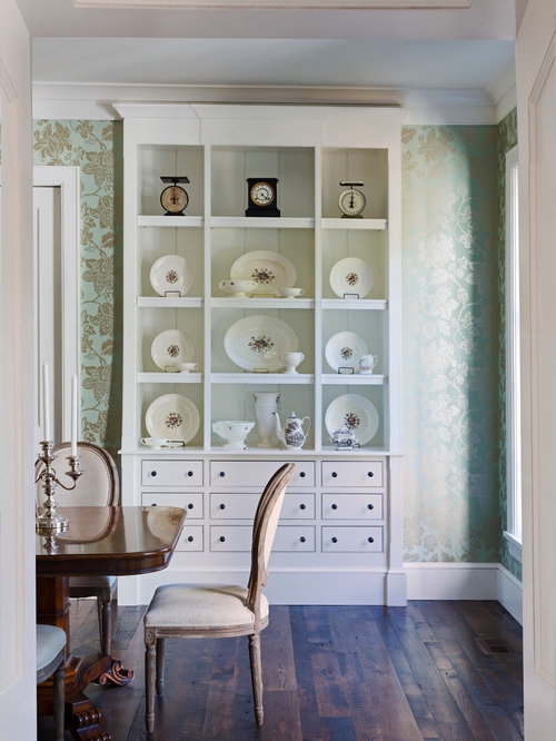 Wallpaper China Cabinet Home Design Ideas, Pictures, Remodel and Decor