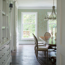 Farmhouse Dining Room by Donald Lococo Architects