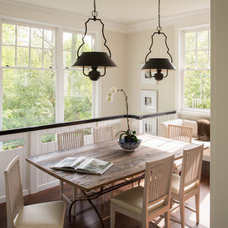 Traditional Dining Room by Donald Lococo Architects