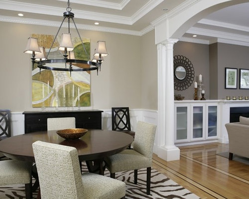 Stained Wood Baseboards And Trim