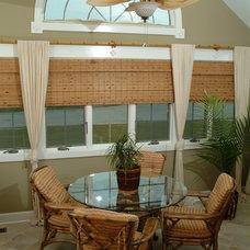 Tropical Dining Room by Redman Design Studio