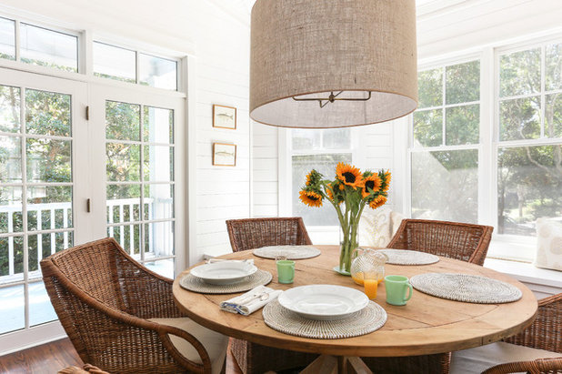 Beach Style Dining Room by Matthew Bolt Graphic Design