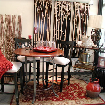 An Asian Style Dining Setting