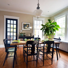 Eclectic Dining Room by Nicole Lanteri Design