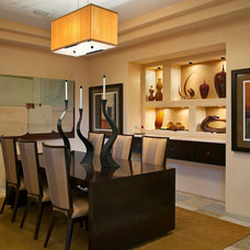 Contemporary Dining Room by Pekarek Crandell Architects