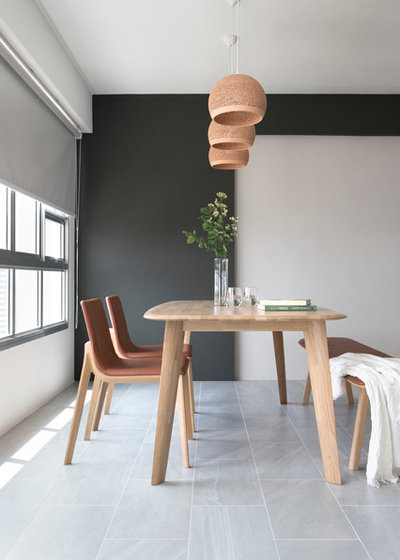 Modern Dining Room by The Scientist Pte Ltd