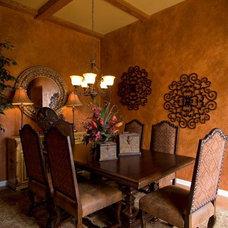 Contemporary Dining Room by Anita Roll Murals