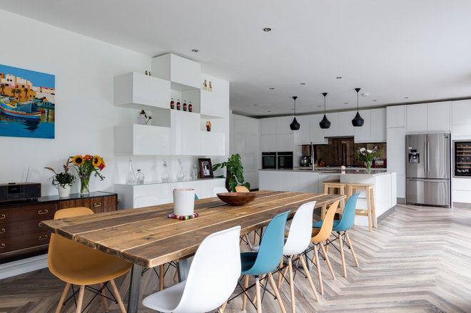 Contemporary Dining Room by MODEL Projects Ltd