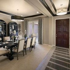 Contemporary Dining Room by Meritage Homes