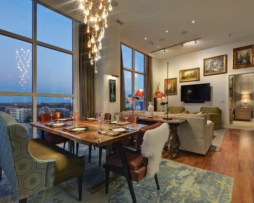 Eclectic Dining Room Design Ideas, Remodels & Photos