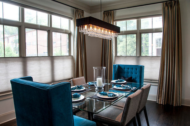 Contemporary Dining Room by 2 Gays & a Design, LLC