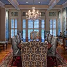 Traditional Dining Room by Friday and Genter Interior Design