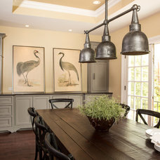 Transitional Dining Room by Renewal Design-Build