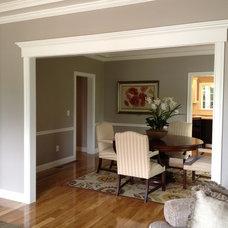 Craftsman Dining Room by Naplex Construction LLC