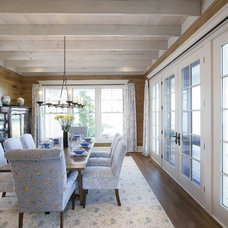 Traditional Dining Room by Appalachian Woods