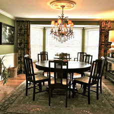 Traditional Dining Room by Interiors Unleashed