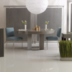 Moontower Residence Contemporary Dining Room Austin