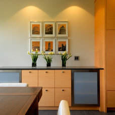 Contemporary Dining Room by Christopher Developments