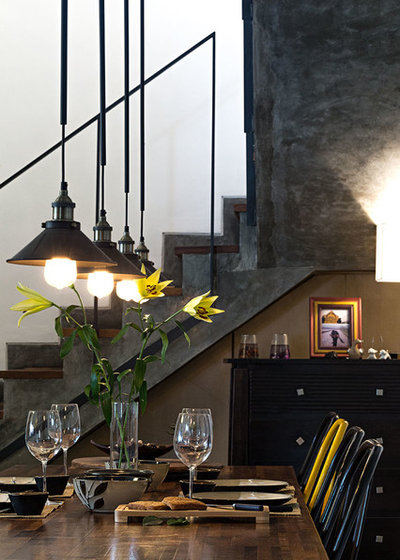 Industrial Dining Room by Praxis