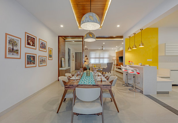 Contemporary Dining Room by Yellow Door Architects