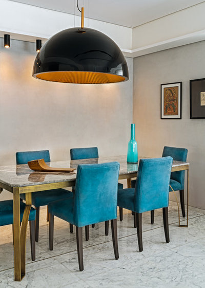 Contemporary Dining Room by SHROFFLEóN