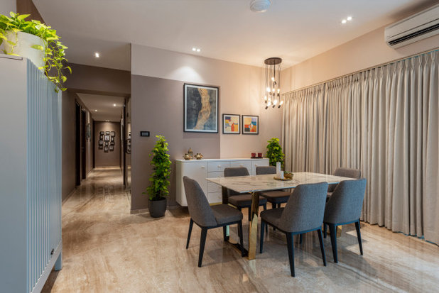 Contemporary Dining Room by Anushka Contractor