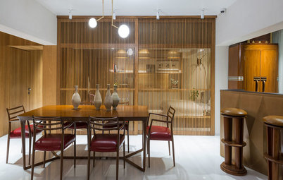 Mumbai Houzz: A Designer's Home Celebrates Sea Views & Wooden Accents