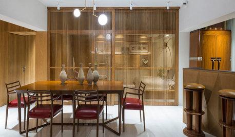 Mumbai Houzz: A Designer's Home Celebrates Sea Views & Wooden Accents