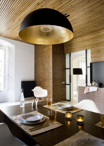 Contemporary Dining Room by YLAB Arquitectos Barcelona