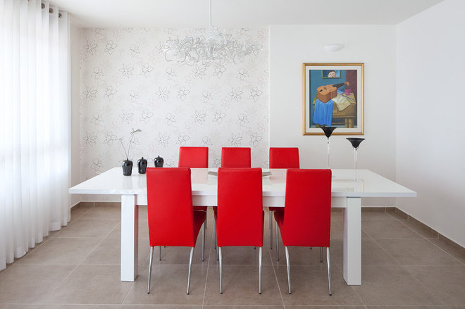 Contemporary Dining Room by Polly