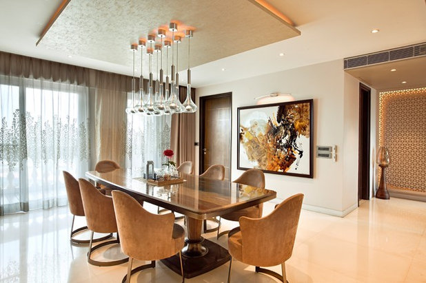 Contemporary Dining Room by 42 MM ARCHITECTURE