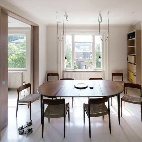 Contemporary Dining Room Idea In London