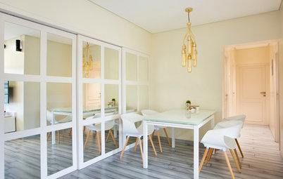 Houzz Tour: Deft Design and Clean Lines Make This Mumbai Home Shine