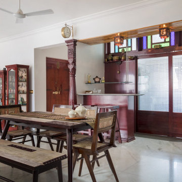 Apartment with traditional Indian Interior