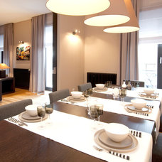 Contemporary Dining Room by Riva Cantù Tailor Made